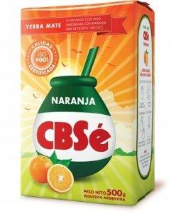 Yerba Mate CBSe Naranja Pomarańczowa 500g orzeźwia