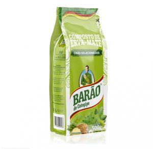 Yerba Mate Barao Menta Boldo Ananas 500g Green TEA