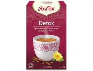 Herbata Detox Bio 17x1,8g Yogi Tea