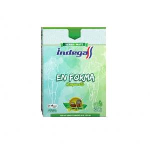 Yerba Mate Indega EN FORMA 500g Silueta Fitness