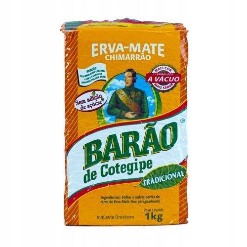 Yerba Mate Barao de Cotegipe Tradicional 1kg