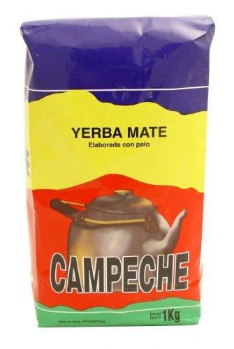 Yerba Mate Campeche Elaborada 1kg - Argentyna