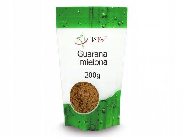 Guarana Mielona 200g - Moc i Energia z Brazylii