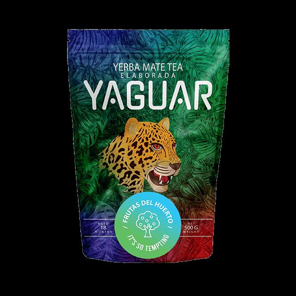 Yerba Mate Yaguar Frutas del Huerto