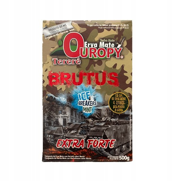Yerba Mate Ouropy Brutus Terere 500g EXTRA FORTE