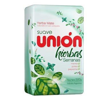 Yerba Mate Union Hierbas Serranas 500g miętowa