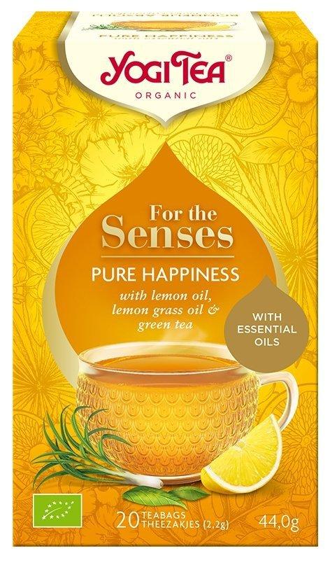 HERBATA Czysta radość PURE HAPPINESS BIO YOGI TEA