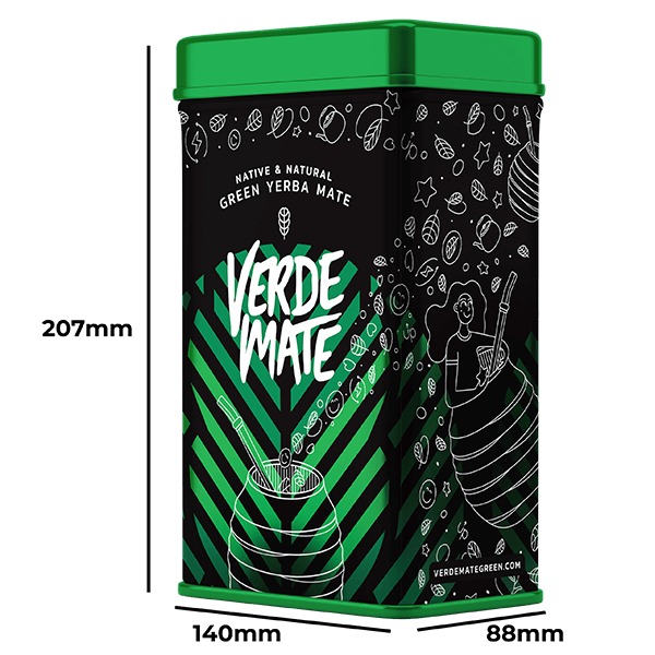 YERBERA Puszka Yerba Verde Mate Cactus 500g