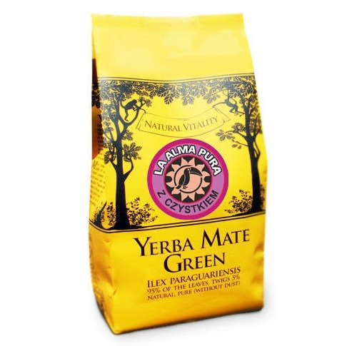 Yerba Mate Green La Alma Pura 1kg - z Czystkiem