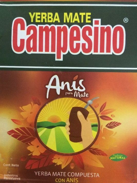 Yerba mate Campesino con Anis Anyżowa 500g