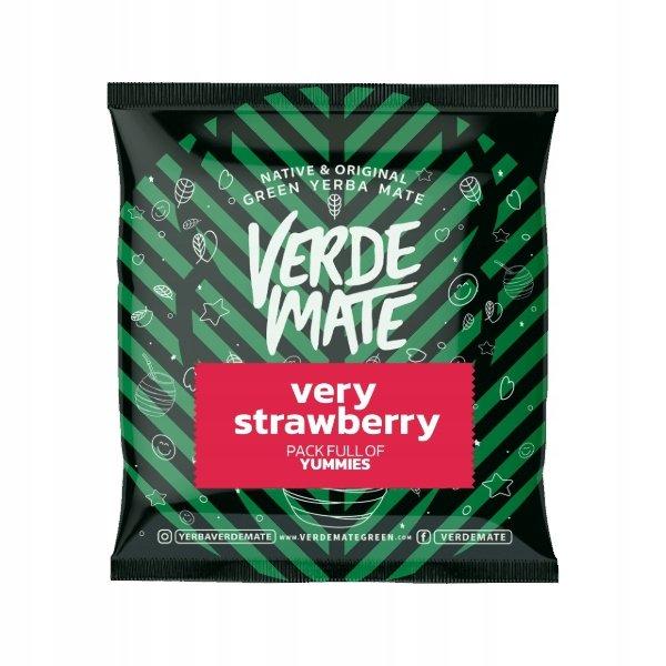 Yerba Mate Green Verde Very Strawberry + Rosa 50g