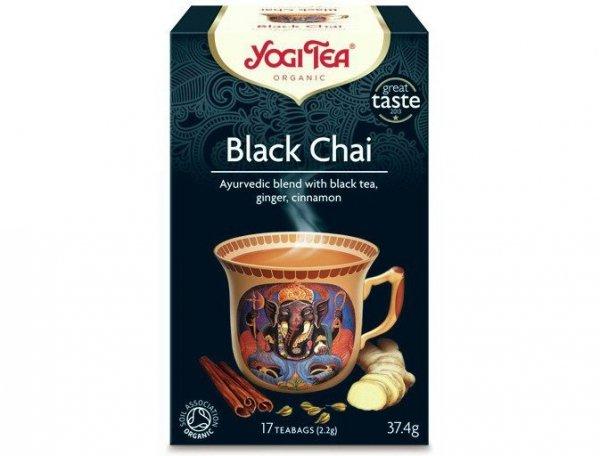 Herbata Black Chai Bio 17x2,2g Yogi Tea