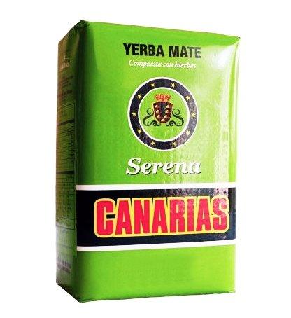 Yerba Mate Canarias Serena Mięta Lipa Melisa 500g