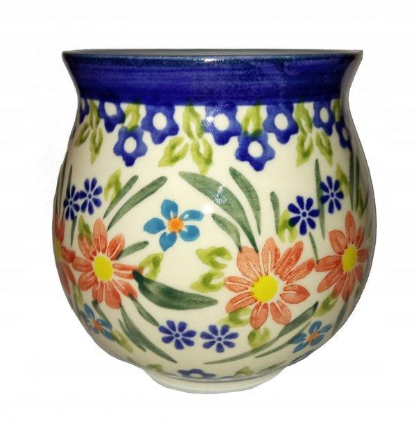 Matero Las Flores Mate Ceramika Bolesławiec Yerba