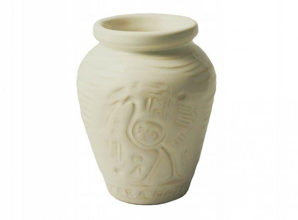 Matero Ceramiczne AZTEK Ivory Yerba Mate