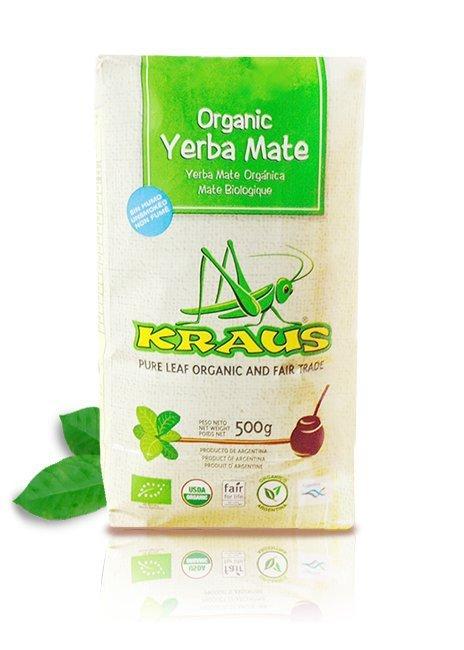 Yerba Mate Kraus Organica Pure Leaf 500g Bez pyłu!