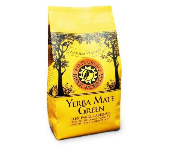 Yerba Mate Green Papaja Moringa 400g