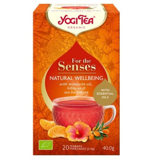 Herbata Szczęście z natury Bio 20x2,0g Yogi Tea