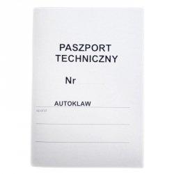 PASZPORT TECHNICZNY DO AUTOKLAWU