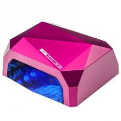 LAMPA DIAMOND 2w1 UV LED+CCFL  36W TIMER + SENSOR PINK