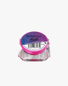 SEMILAC 665 FLASH GALAXY PURPLE&ROSA