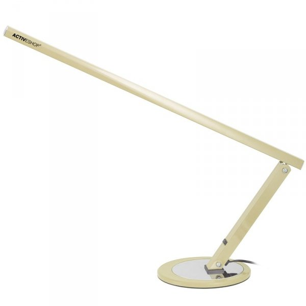 LAMPA NA BIURKO SLIM 20W SZAMPAŃSKA