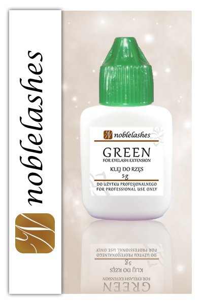 NOBLE LASHES GREEN KLEJ DO RZĘS 5 ML