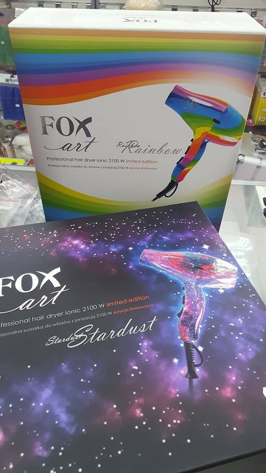 FOX ART STARDUST SUSZARKA DO WŁOSÓW 2100W