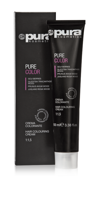PURA PURE COLOR FARBA DO WŁOSÓW 100ML 6/44 Dark Intensive Copper Blond