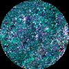 SEMILAC 664 FLASH GALAXY GREEN&PURPLE