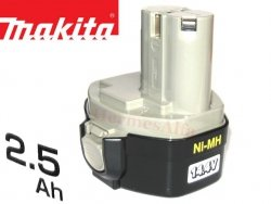 Akumulator ORYGINAŁ MAKITA 1434 Ni-Mh 14,4V 2,5Ah (2,6Ah*)