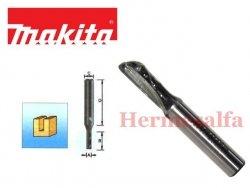 FREZ DO DREWNA PROSTY (1 ROWEK) 8mm MAKITA D-10039 szerokość ostrza 6mm