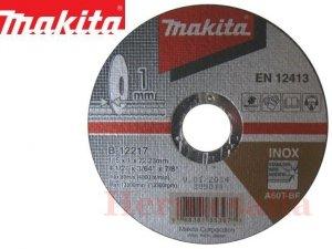 TARCZA DO CIĘCIA METALU INOX 1,0 x 115 MAKITA B-12217