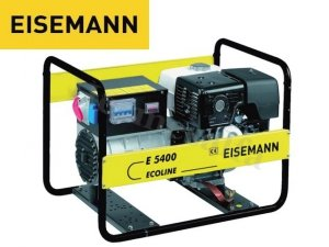 GENERATOR AGREGAT PRĄDOTWÓRCZY EISEMANN E5400