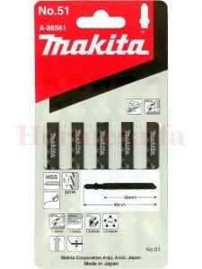 BRZESZCZOTY DO WYRZYNAREK Nr51 HSS 65mm MAKITA A-86561