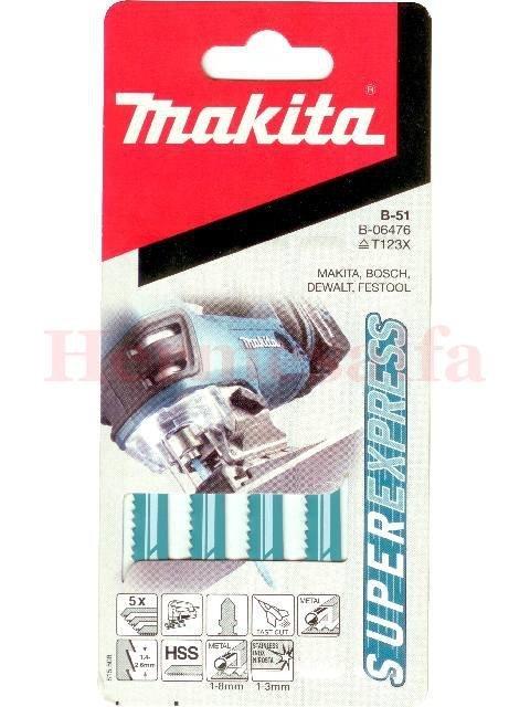 BRZESZCZOTY DO WYRZYNAREK B-51 HSS 77mm MAKITA B-06476