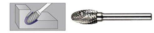 FREZ Z WĘGLIKA SPIEKANEGO ELIPTYCZNY 12mm / 6mm E1222/C