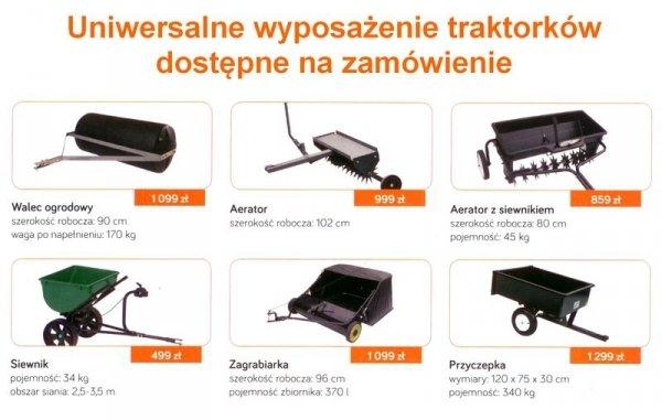 KOSIARKA SAMOJEZDNA TRAKTOREK OLEO-MAC OM108L/18,5H