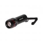 Latarka LED z zoomem, 1W, 70lm, 80m