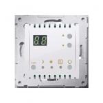 Regulator temperatury z wyświetlaczem (czujnik wewnętrzny) biały