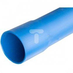 Rura osłonowa gładka kielichowa niebieska 160mm RHDPE 160X8N /6m/