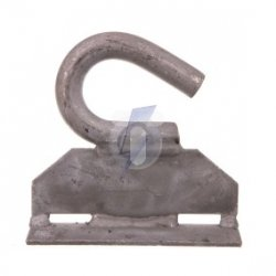 Hak zawiesie M16 do mocowania taśmą stalową S0659