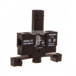 Oprawka z LED zielona 24V AC/DC montaż 22mm3SB3420-1PC