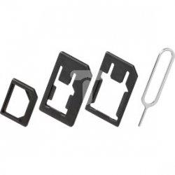 Adapter karty SIM nanoSIM/micro/SIM/SIM 3w1 40805