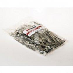 Taśma aluminiowa 10x1mm w odcinkach 60mm TALU10X1ODC60 /1kg ok. 37m/