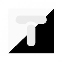 TOPAZ-BIS Łącznik schodowy z podświetleniem biały WP-5Tb/S