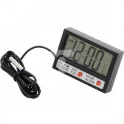 Termometr panelowy BLOW LCD+zegar TH002 50-311#