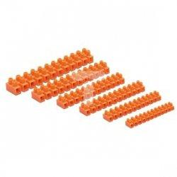 Złączka zaciskowa 27-torowa 16mm2 76A pomarańczowa lz-160 LZ-160MM0-00