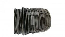 Kolorowy przewód mieszkaniowy H03VV-F (OMY) 3G 0,75 żo w oplocie tekstylnym jednobarwny czarny PPJBBLNN09 /bębnowy/
