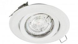 Oprawa sufitowa wpuszczana regulowana BETA biała matowa (stalowa) LUX01221